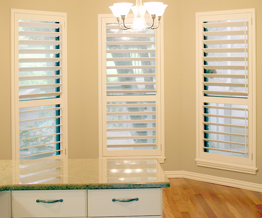 plantation shutters best insulating window treatments Hunter Douglas San Antonio 78249