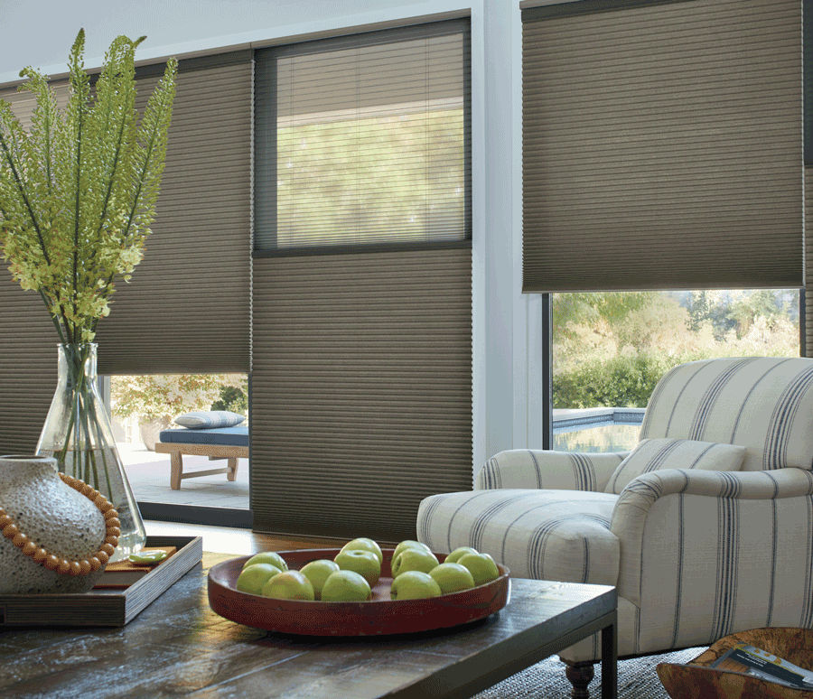 living room duette honeycomb shades hygge comfort design ideas Hunter Douglas San Antonio 78249