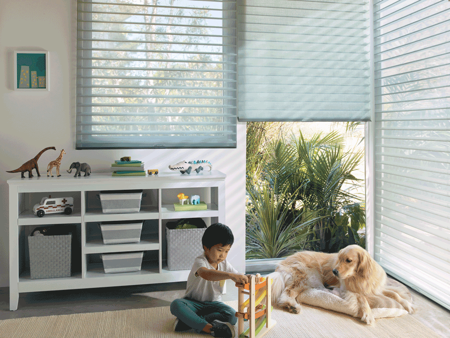 Child safe shades Hunter Douglas San Antonio 78249