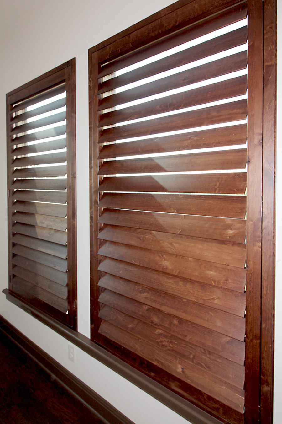 knotty alder shutters comal county