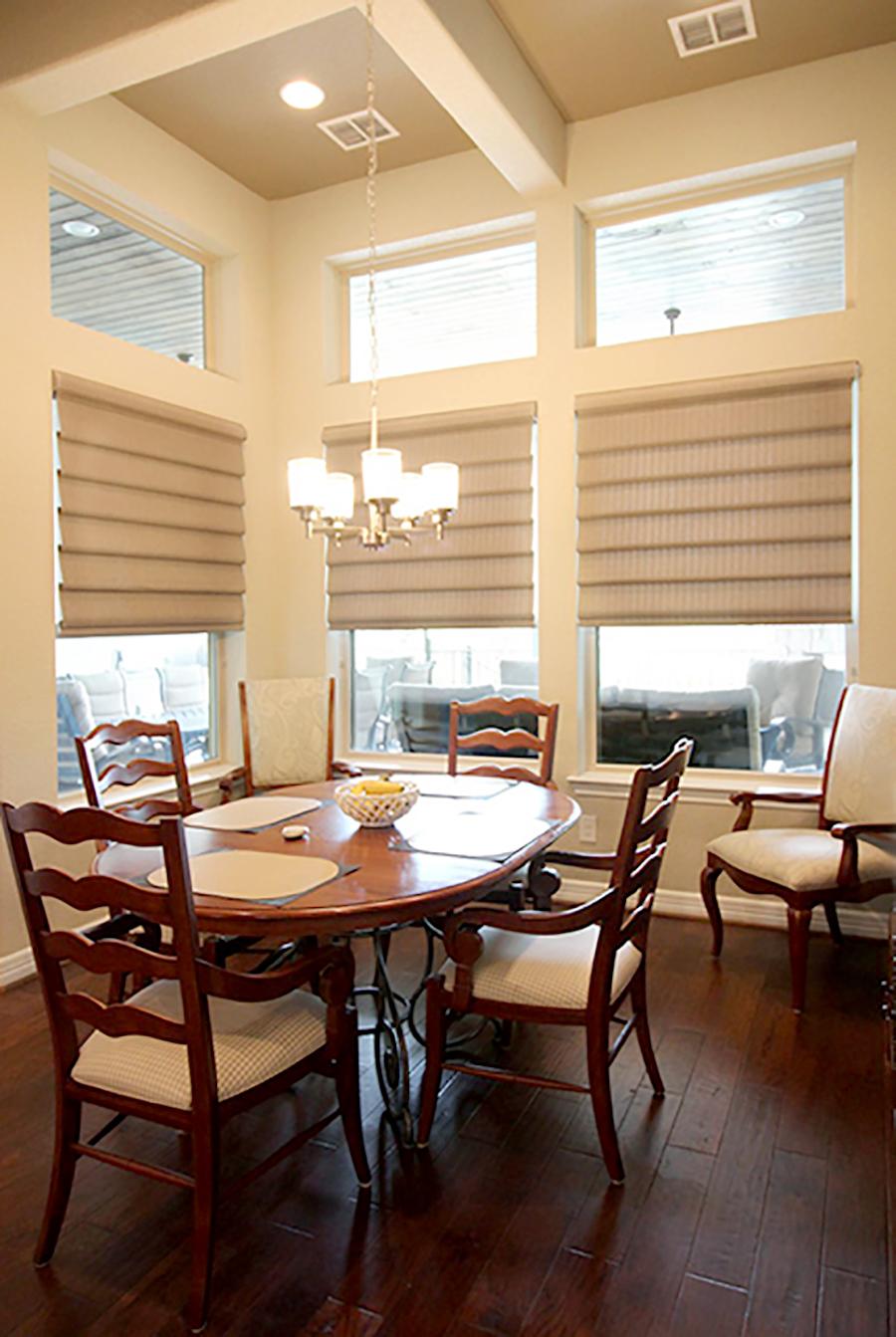tiffany hartnett designer top picks vignette modern roman shades Hunter Douglas energy efficient window treatments San Antonio 78249