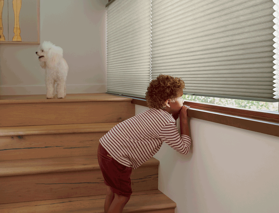 summer ready home with child safe blinds Central Texas
