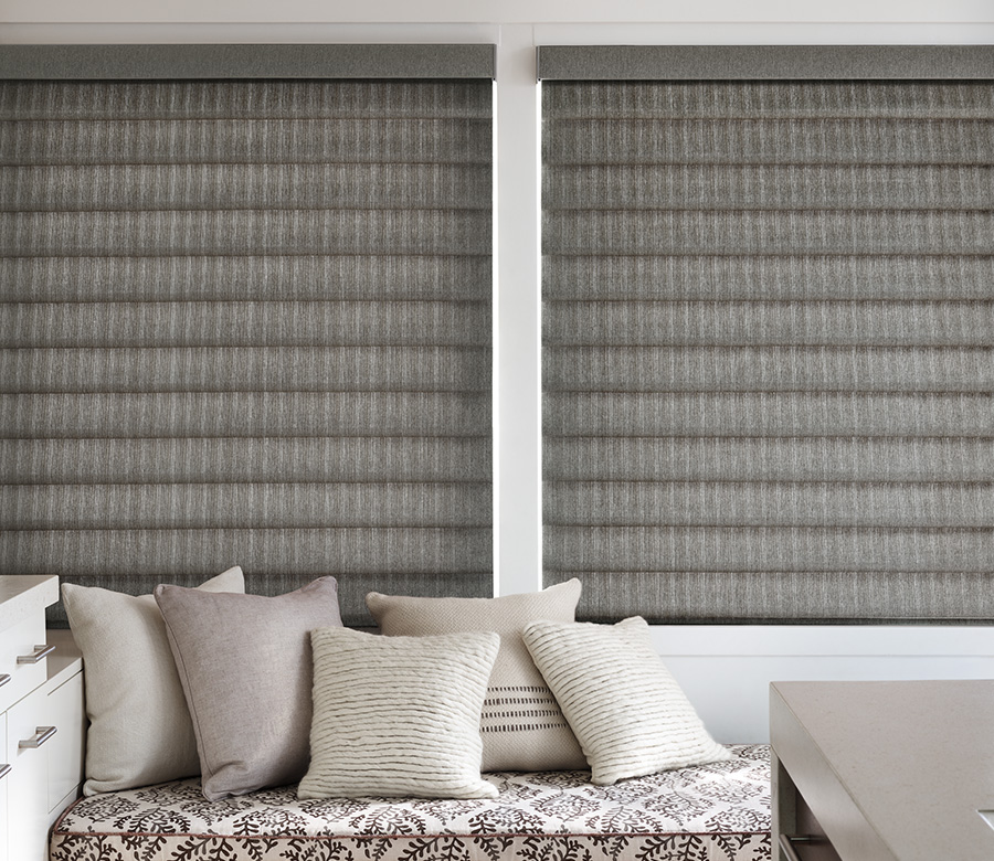 Reduce your carbon footprint with thermal window treatments.