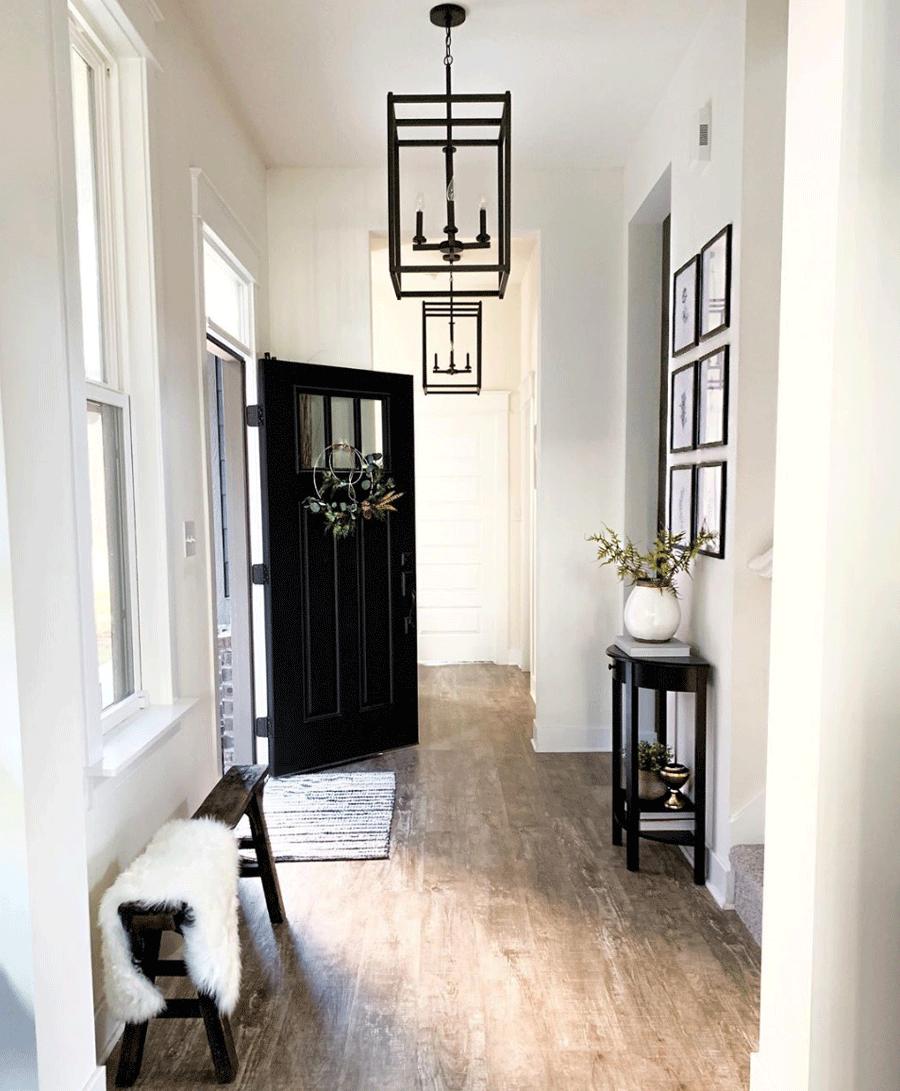 black front door the color black for traditional design elements