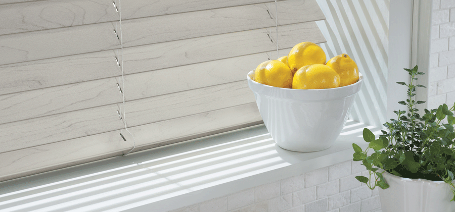 kitchen windowsill lemons neutral color scheme in this together window fashions of texas san antonio