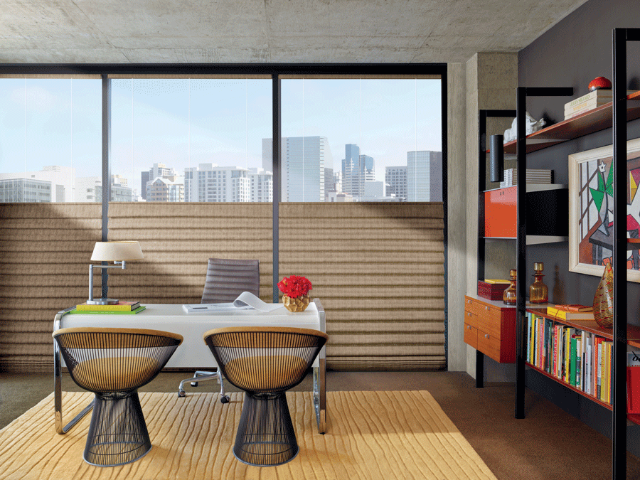 your home office modern decor city window fashions of texas