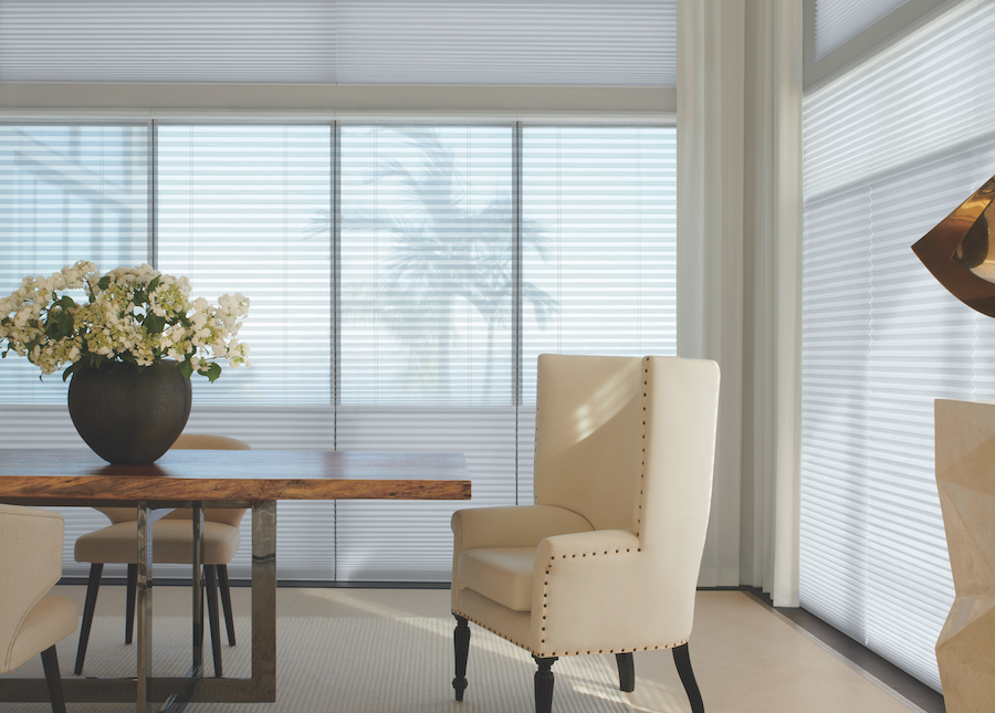 Alustra Duette Honeycomb Shades with Duolite®, San Antonio, TX.