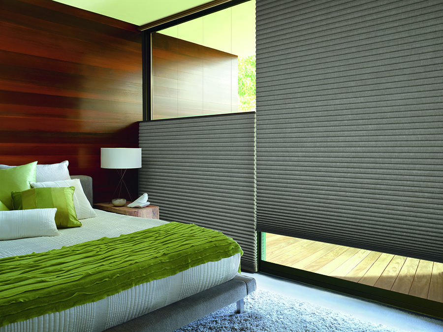 Increased safety in the bedroom with top-down bottom-up shades
