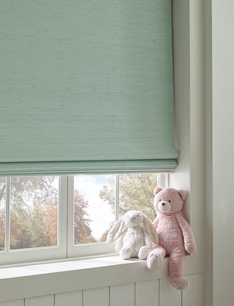 Cordless window treatment options at Window Fashions of Texas.