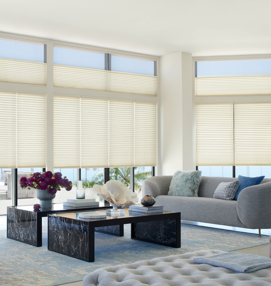 neutral shades increase light in living room