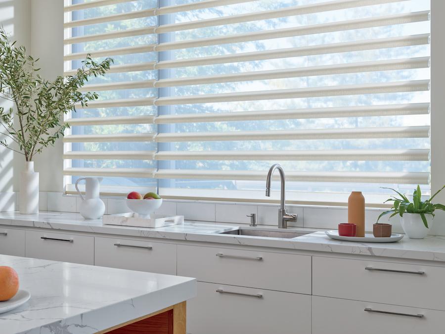 kitchen window shades in San Antonio, TX