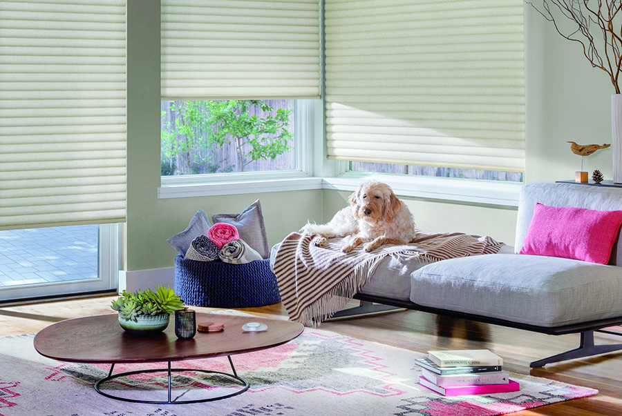 smart home technology for automated window treatments in San Antonio texas