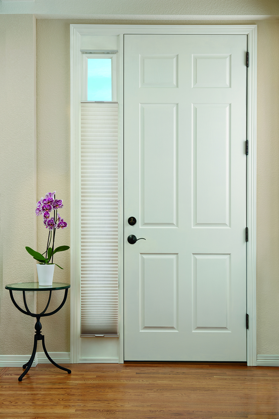 Duette® Honeycomb Shades in an entryway