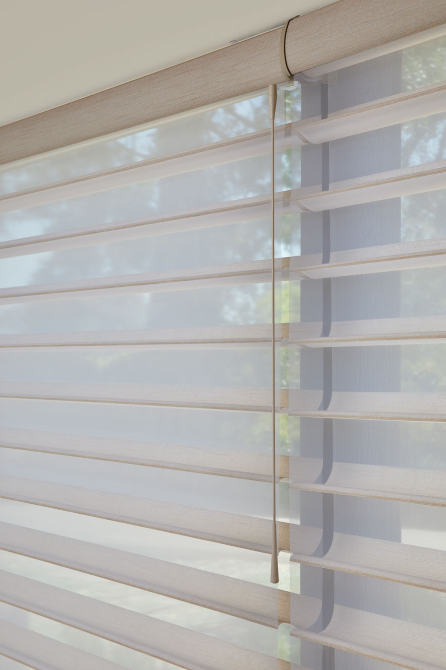 SoftTouch® system for shades