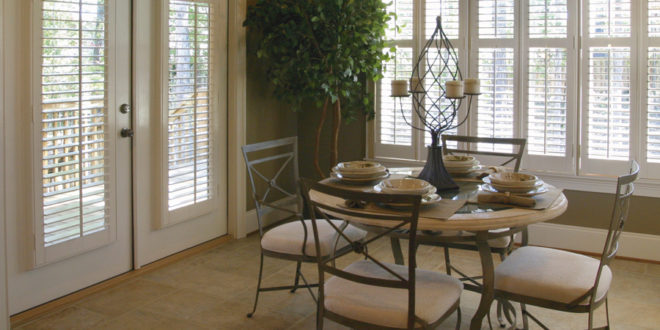 All year round light control with plantation shutters Hunter Douglas San Antonio 78249