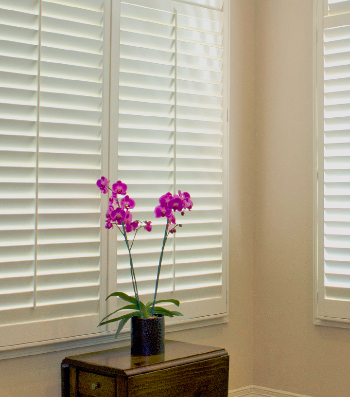 insulating window treatments help save energy with interior plantation shutters San Antonio, TX