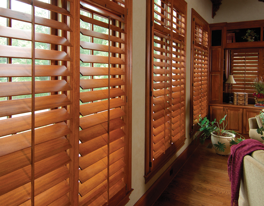 real wood custom shutters San Antonio