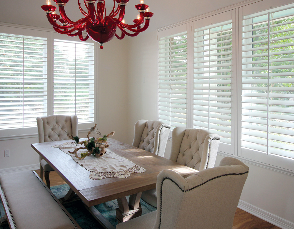 real wood plantation shutters San Antonio