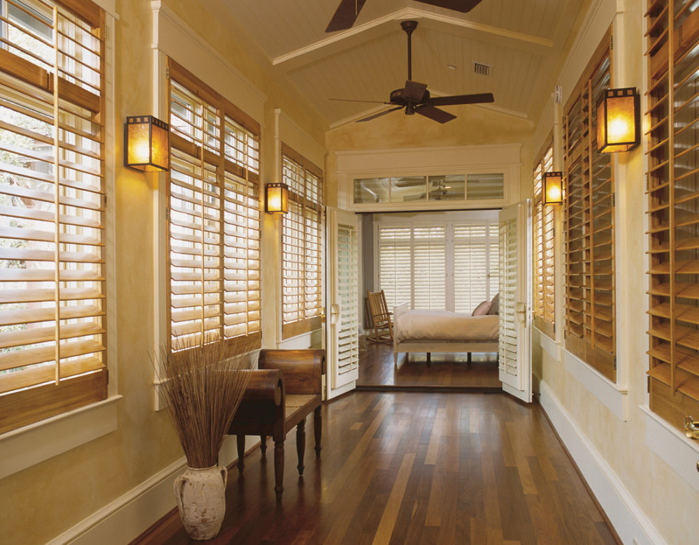 real wood interior window shutters San Antonio