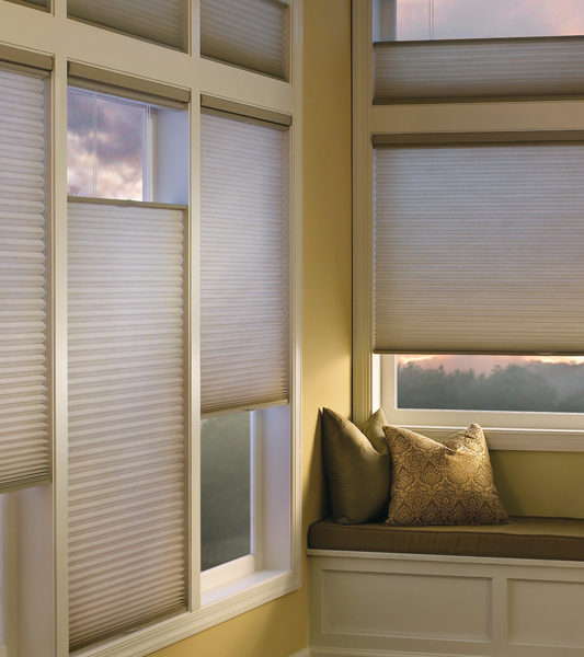 Hunter Douglas top down bottom up blinds honeycomb shades remote control blinds San Antonio