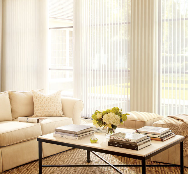 flowing drapery-like shades luminette privacy sheers Hunter Douglas smart shades San Antonio