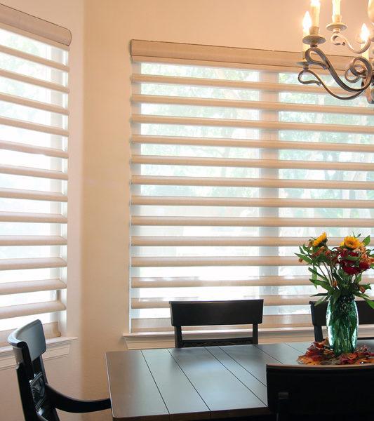 Hunter Douglas pirouette window shadings smart shades San Antonio