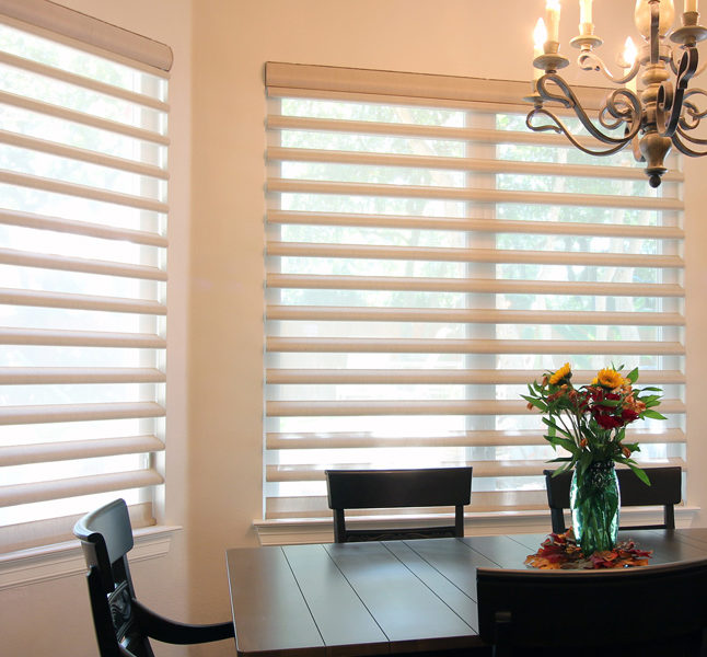 Hunter Douglas pirouette window shadings smart shades San Antonio