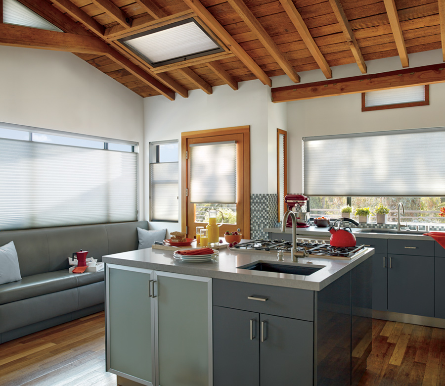 Hunter Douglas cellular shades for skylights San Antonio