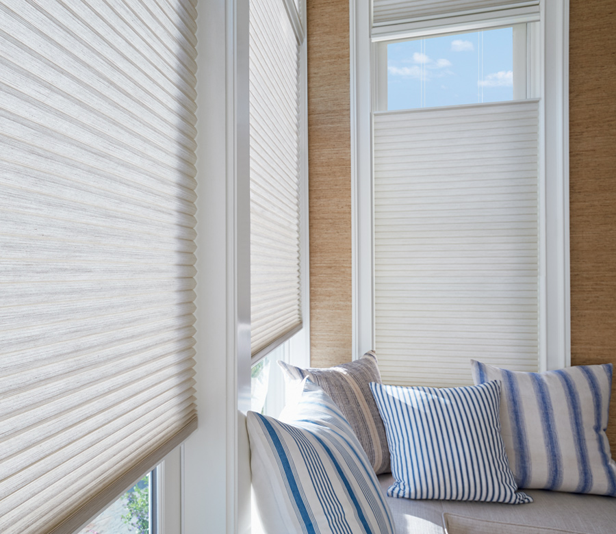 Hunter Douglas Duette honeycomb shades top down bottom up shades San Antonio
