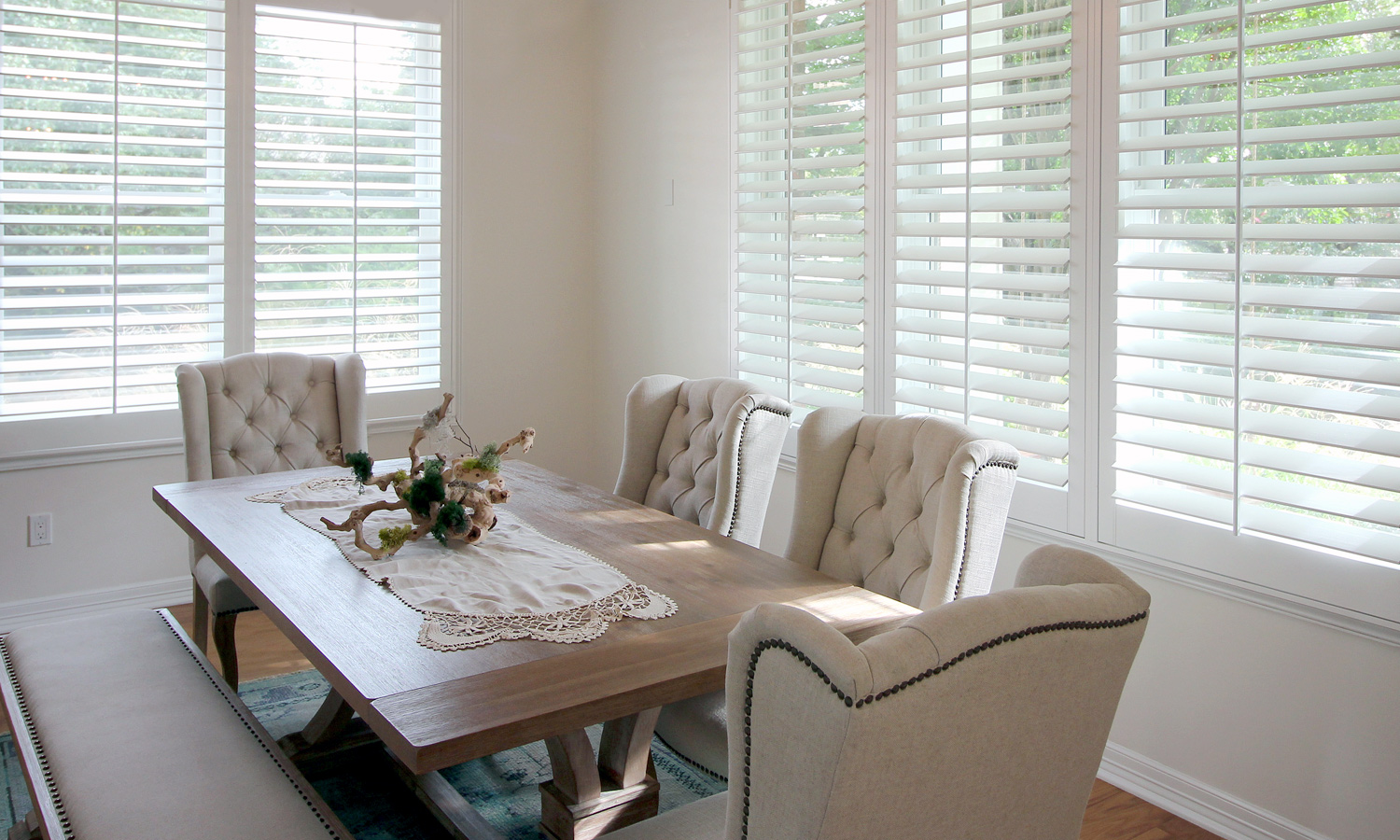 Window Fashions Of Texas Custom Plantation Shutters