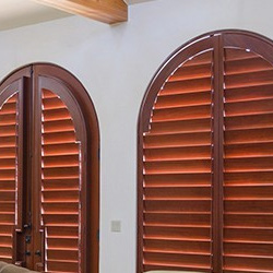 arched window plantation shutters San Antonio