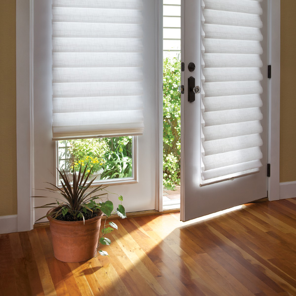 contact the team at Window Fashions of Texas to find out about best ways to cover glass door blinds San Antonio TX