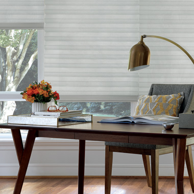 Hunter Douglas solera soft fabric roman shades San Antonio