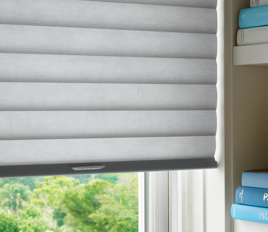 close up Hunter Douglas roller cellular shades thermal shades san antonio