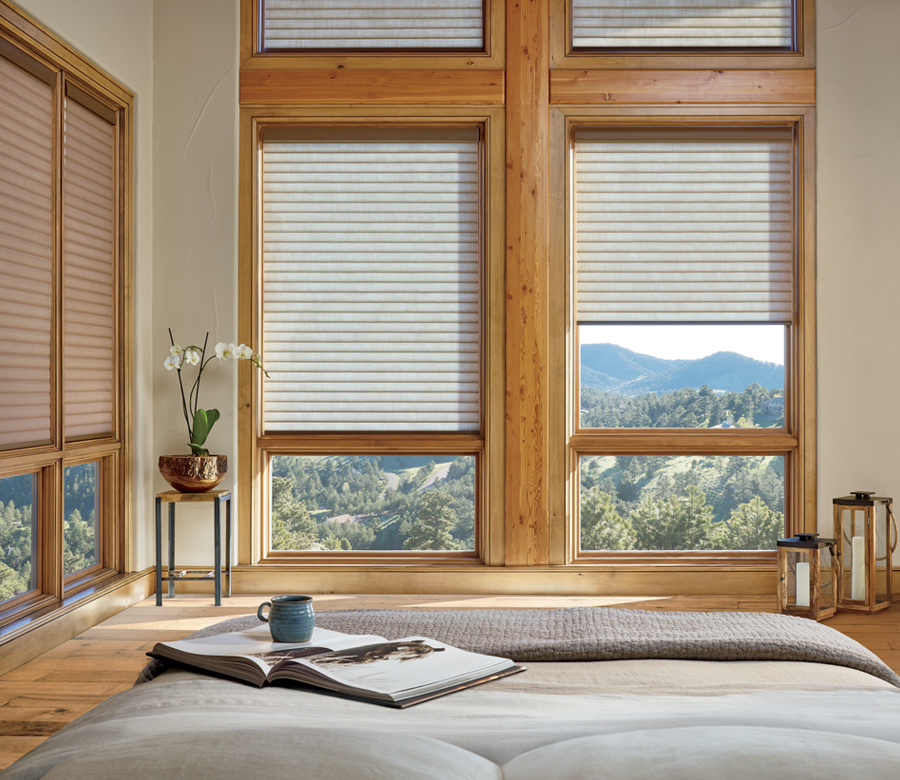 Hunter Douglas thermal window shades san antonio