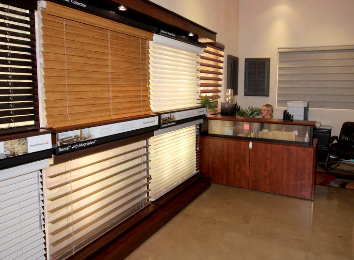 window treatments showroom blinds on displays san antonio