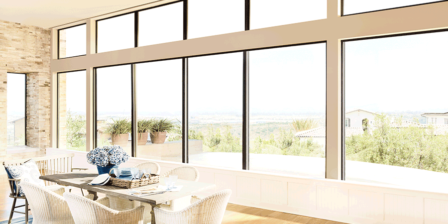 bare window solutions for cutting the glare San Antonio