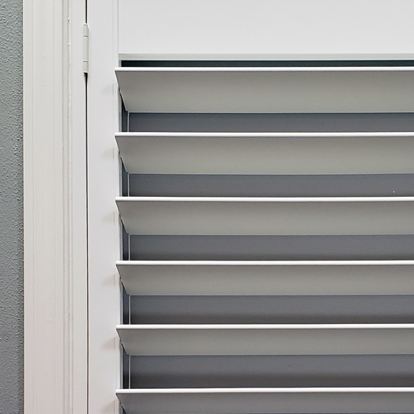 tilt rods on ohair custom interior shutters in San Antonio 78249