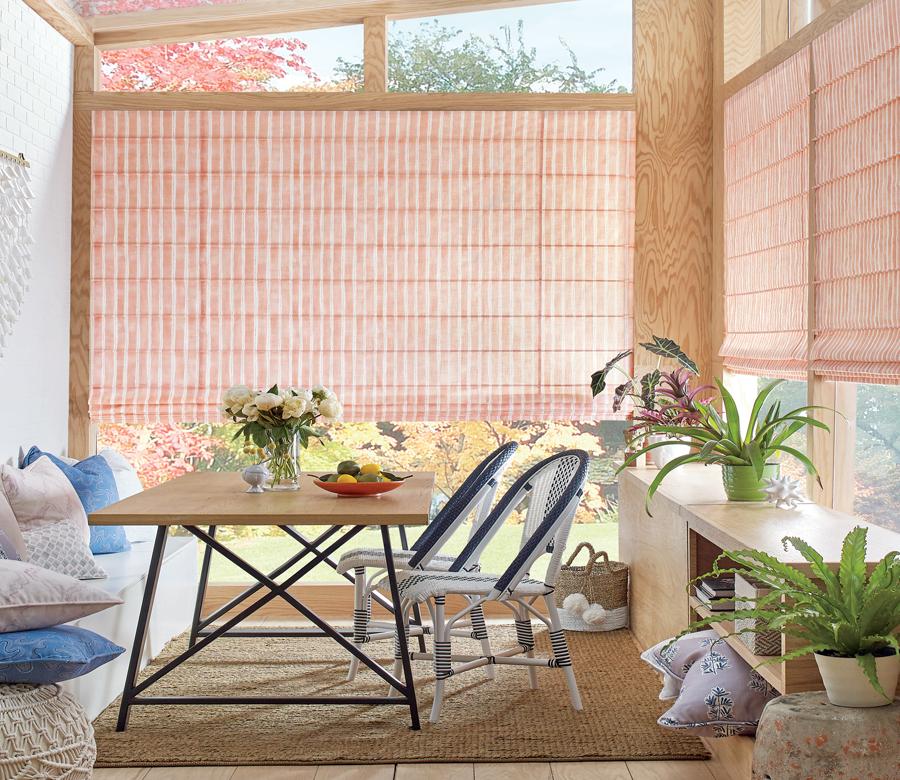 pergola outdoor patio with custom window treatments San Antonio TX