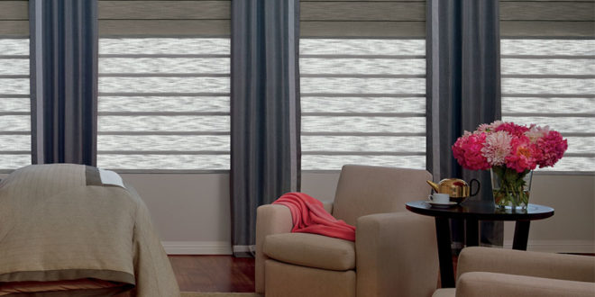 Duolite® dual shades by Hunter Douglas.