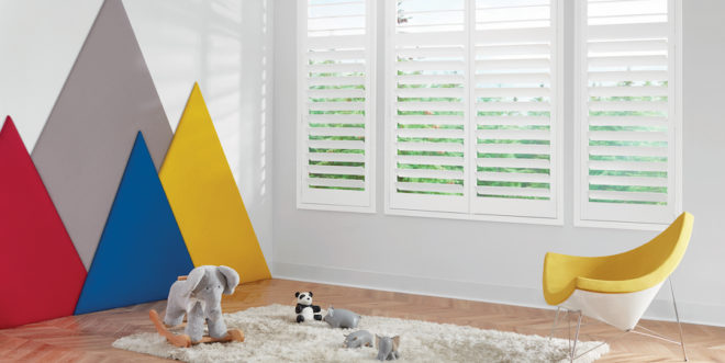 How to childproof with Hunter Douglas shades.