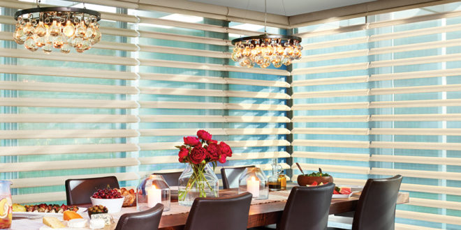 updated dining room with blinds San Antonio, TX