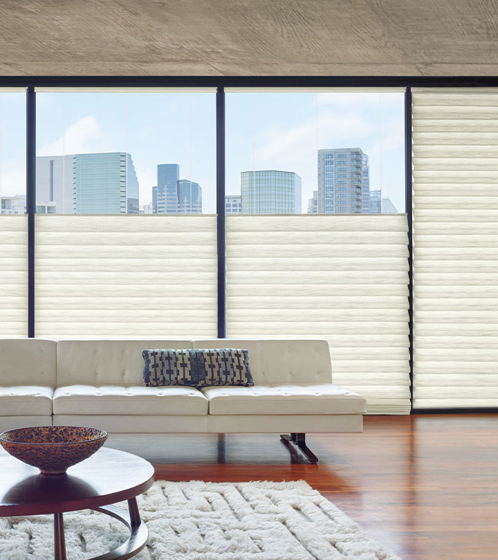 energy efficient roman shades with top down feature in San Antonio TX