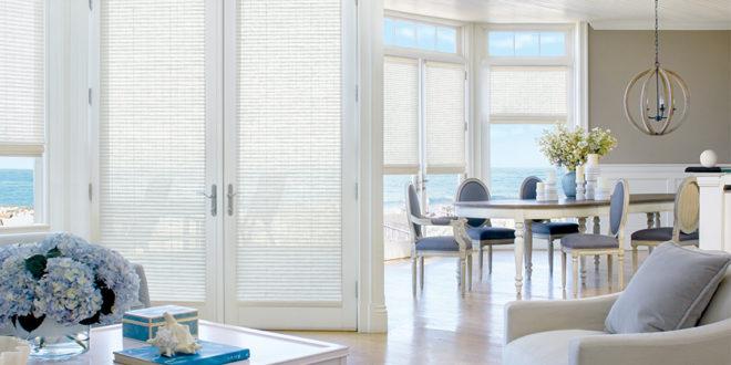 woven woods window treatments for covering doors in San Antonio TX