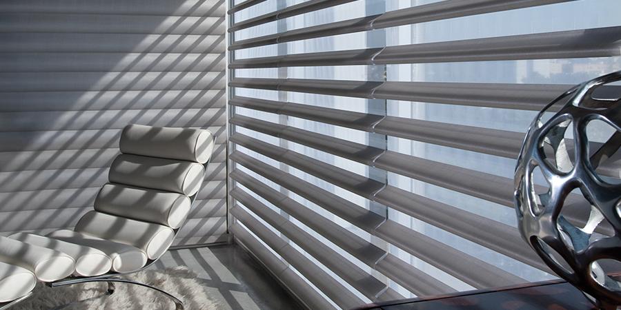 balanced light with the right window shades in San Antonio TX