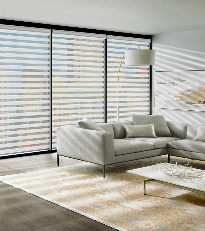 white floor to ceiling blinds in San Antonio TX