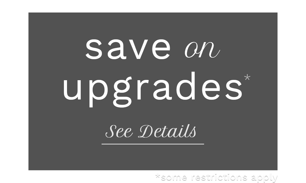 save on upgrades