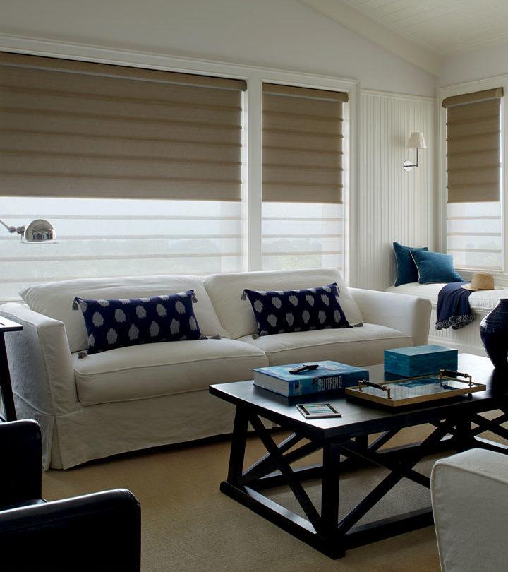 dual shades for living room windows in San Antonio